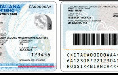Carta di Identità Elettronica con chip difettoso