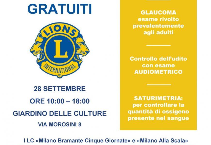 Con Lions e Municipio 4 screening gratuiti al Giardino delle Culture