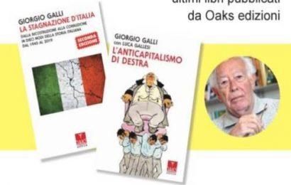Segrate incontra lo storico e politologo Giorgio Galli