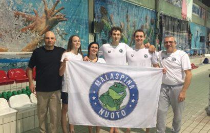Dieci medaglie al Malaspina Nuoto