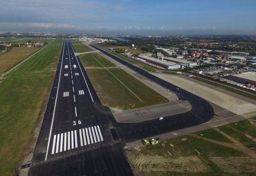 Chiude l'aeroporto di Linate