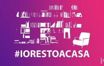 MIBACT: campagna social #iorestoacasa