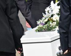 Pubblicità squallida dei servizi funebri a Milano