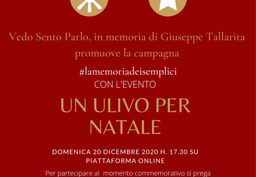 Evento online per l'associazione Vedo Sento Parlo