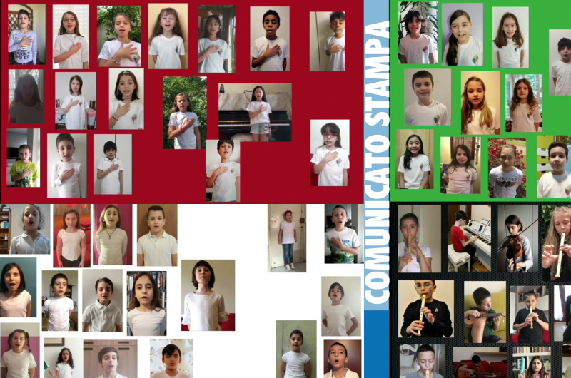 La Repubblica cantata da 200 voci bianche