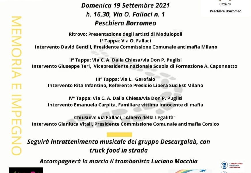 Seconda Marcia danzante della memoria in ricordo di Giuseppe Tallarita